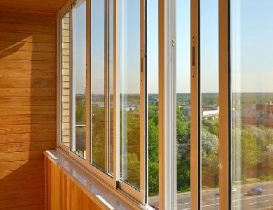 Алюминиевое остекление балконов и лоджий в Санкт-Петербурге - цены от ГАРАНТ ПИТЕР