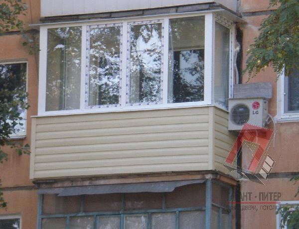 Стандартное теплое утепление окнами ПВХ